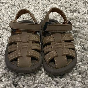 Other - Toddler boys brown sandals size 8-9